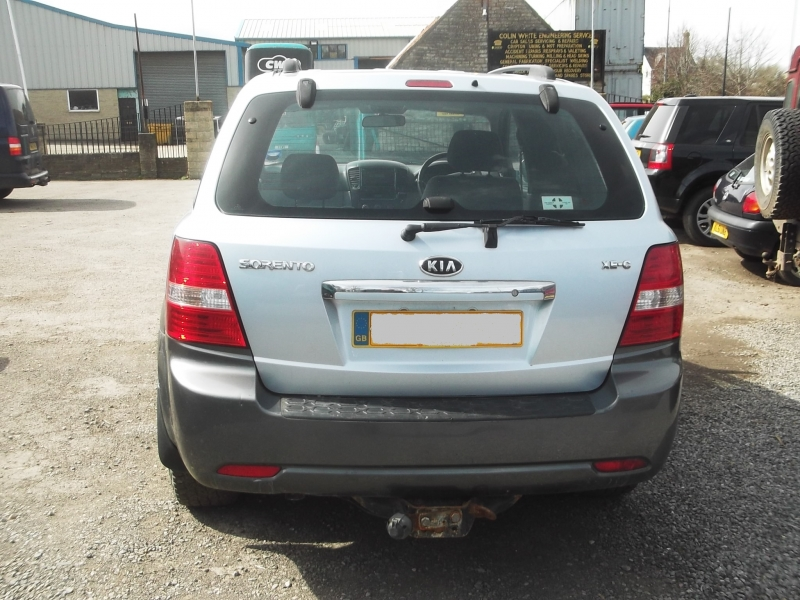 f13059a3ef KIA SORENTO XE-C 2.5TD AUTOMATIC (KIA8) PICTURES FOR GUIDE PURPOSE ONLY