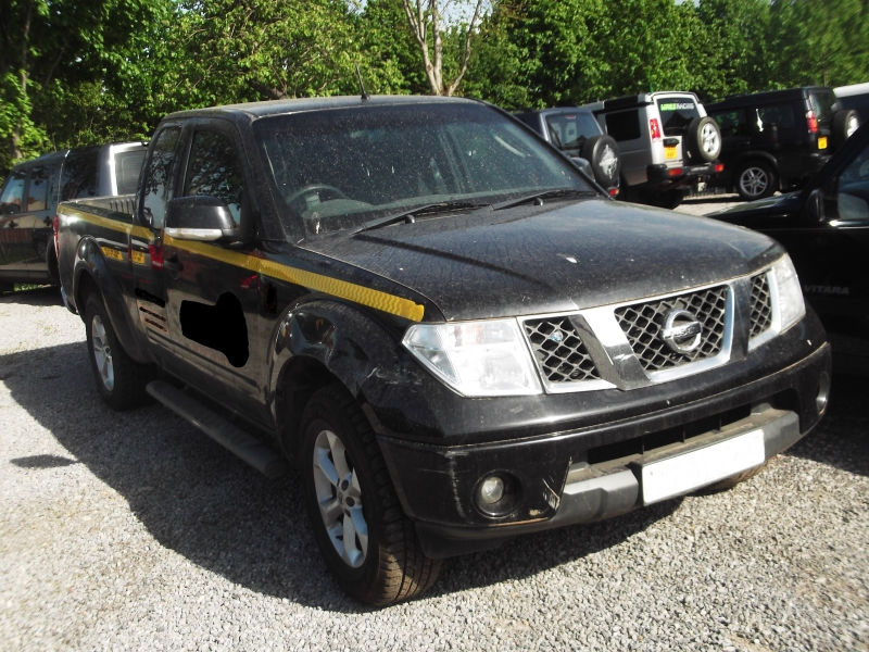 D40 NISSAN NAVARA  KING CAB (NISSAN46) PICTURES FOR GUIDE PURPOSE ONLY ,PLEASE EMAIL OR PHONE IN WITH YOUR PARTS INQUIRY , THANK YOU