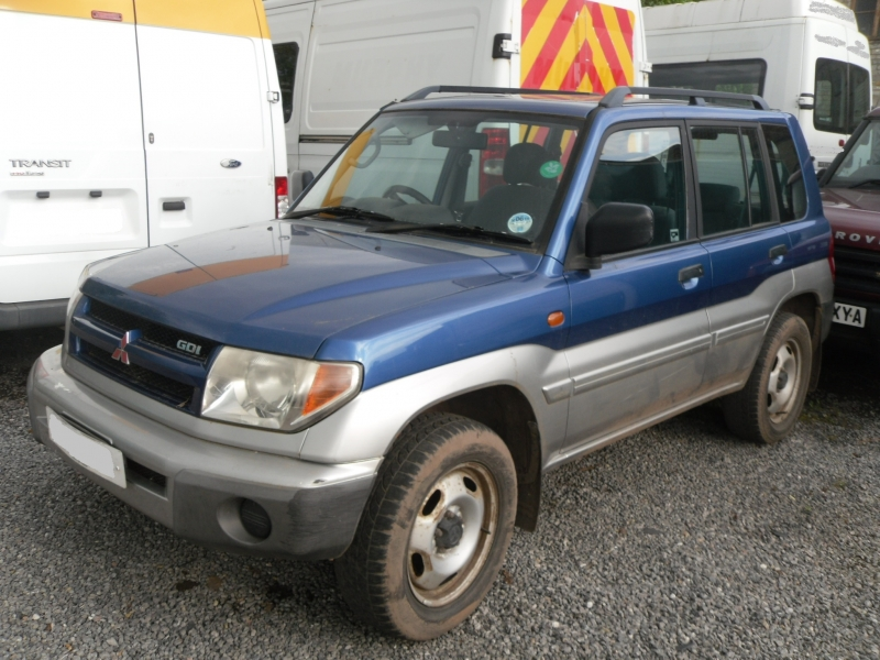 MITSUBISHI SHOGUN PININ EQUIPE GDI 2.0 PETROL MANUAL (SHOGUN83) PICTURES FOR GUIDE PURPOSE ONLY , PLEASE PHONE IN OR EMAIL WITH YOUR PARTS ENQUIRY , THANK YOU